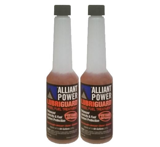 Alliant Power LUBRIGUARD Diesel Fuel Treatment | 1/2 Pint (8 oz) Pack of 2 Bottles | Alliant Power # AP0528