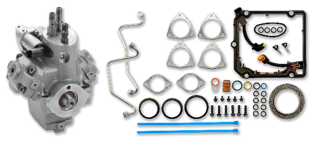 Remanufactured High-Pressure Fuel Pump (HPFP) Kit for the 2008-2010 6.4L Power Stroke F-250, F-350, F-450 and F-550 Engines | Alliant Power # AP63643
