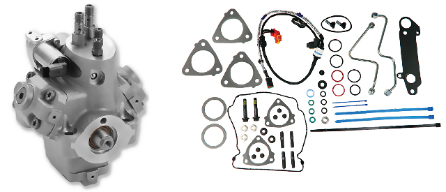 Reman High Pressure Fuel Pump (HPFP) with exclusive installation kit for 2010-2016 Navistar Maxxforce 7 | Alliant Power # AP63646 | OEM #'s: 7080839C94, 5010756R92