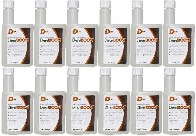 DieselBoost Diesel Fuel Upgrade - 12 Pack of 16 ounce bottles DTech # DT2303-12