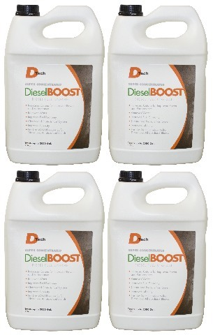 DieselBoost Diesel Fuel Upgrade - 1 Gallon Jugs - Case of 4 - DTech # DT2305-04