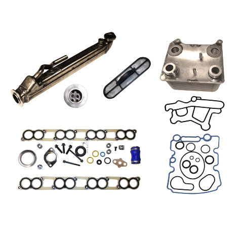 2004-2010 Navistar VT365 * Exhaust Gas Recirculation / Oil Cooler Kit * # EGR500-3