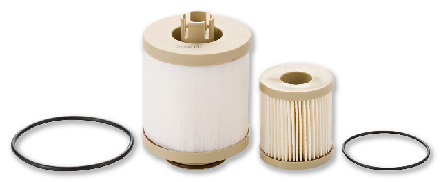 Fuel Filter Element Kit for 2003-2010 6.0L Power Stroke F-Series, Excursion, 4.5L LCF Engines | Racor # PFF4616