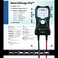 Bosch SCPRO SmartCharge Pro Battery Charger /  Maintainer - Part # 01896C7000