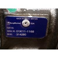 Turbocharger for  1993-2010 Deutz B4FM1013/E Engine.   Schwitzer # 314280 OEM # 04205625