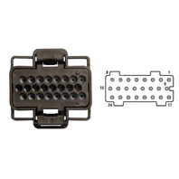 2003-2010 6.0L Ford PowerStroke Fuel Injector Control Module (FICM) Connector Pigtail - Alliant Power # AP0033