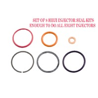 1994-2003 Navistar T444E | HEUI Injector Seal Kit (Set of 8) |  Alliant Power # AP0001