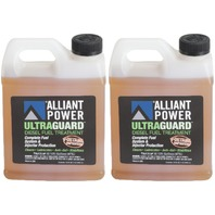 Alliant Power ULTRAGUARD Diesel Fuel Treatment | 2 Pack of 32 oz Jugs | # AP0502