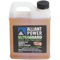 Alliant Power ULTRAGUARD Diesel Fuel Treatment | 8 Pack of 32 oz Jugs | # AP0502