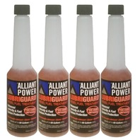 Alliant Power LUBRIGUARD Diesel Fuel Treatment | 1/2 Pint (8 oz) Pack of 4 Bottles | Alliant Power # AP0528