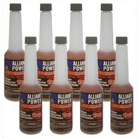 Alliant Power LUBRIGUARD Diesel Fuel Treatment | 1/2 Pint (8 oz) Pack of 8 Bottles | Alliant Power # AP0528