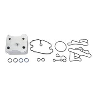 Alliant Power Engine Oil Cooler Kit for 2008-2010 6.4L Power Stroke F-250, F-350, F-450 and F-550 Engines | Alliant Power # AP63468 | OEM #:8C3Z6A642A