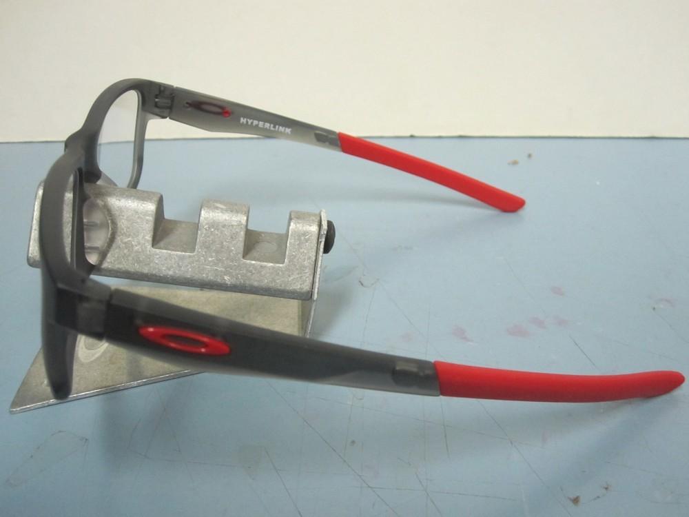8c588954c05 ... Oakley mens RX eyeglass frame Hyperlink Satin Smoke OX8078-0552 NEW  Oakley case ...