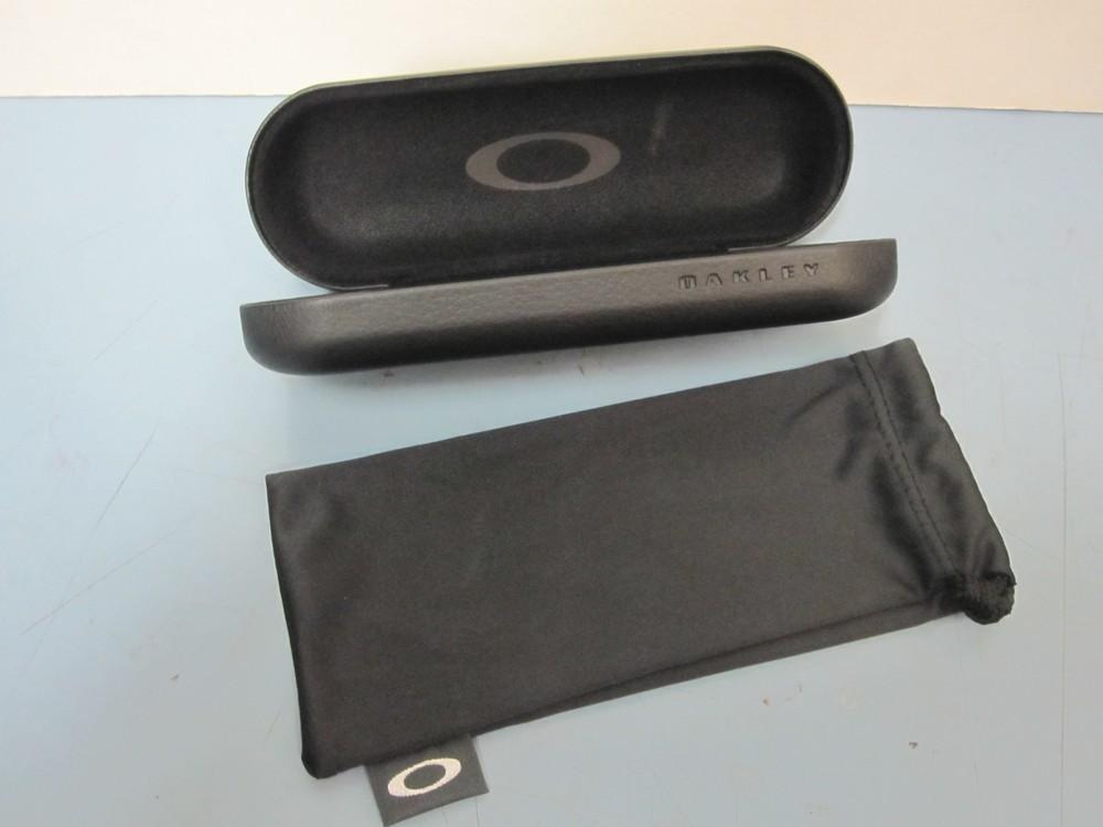 548f781ee33 ... Oakley mens RX eyeglass frame Hyperlink Satin Smoke OX8078-0552 NEW  Oakley case