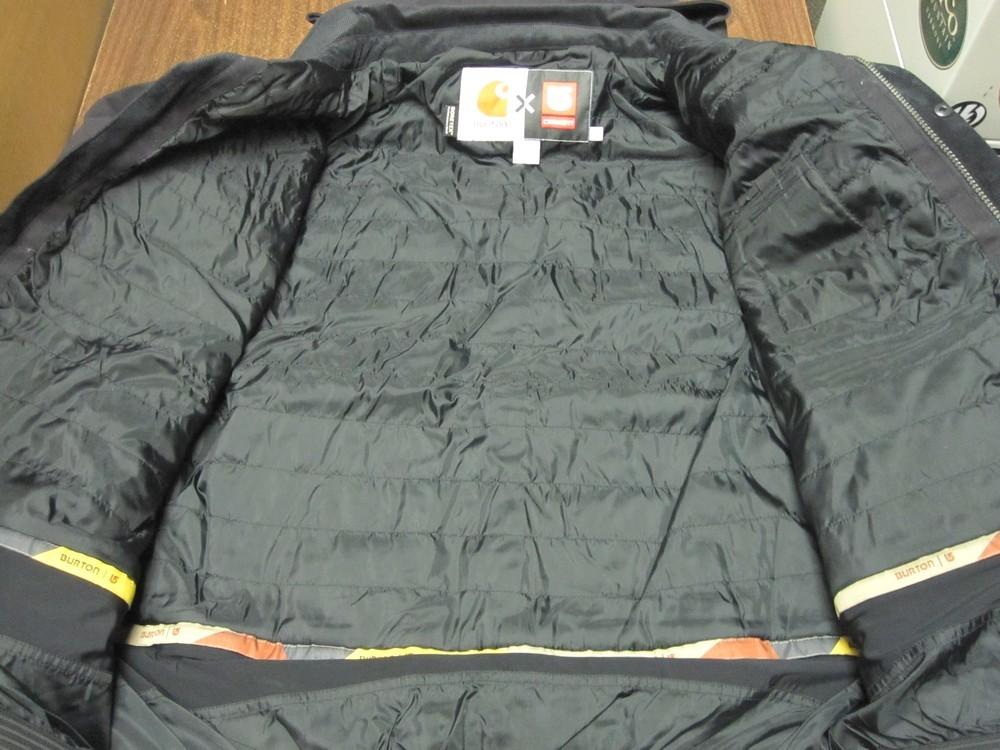 5ef35c04e4 ... BURTON x CARHARTT WIP 2011 snowboard 2L Gore-Tex Jacket True Black mens  LG NEW ...