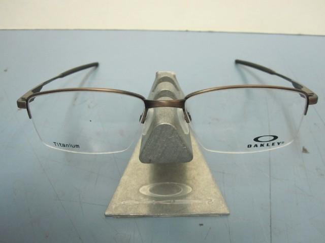 5023fd1815 OAKLEY mens RX eyeglass frame Limit Switch 0.5 Satin Toast OX5119-0354 New  Case