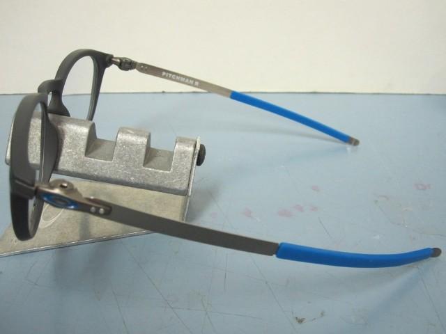 58ecd4a777 OAKLEY mens RX eyeglass frame PITCHMAN R pavement OX8105-0550 NEW in Box  w case
