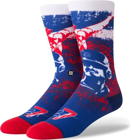 FREE SHIPPING! 9-12 NEW Stance Kris Bryant Chicago Cubs Men/'s Socks LARGE