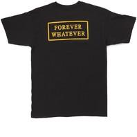 HUF mens Forever Whatever Short Sleeve Tee Black Medium New w/Tag Skateboard