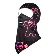 Airhole unisex Snowboard Balaclava Classic Facemask Neon Panda New In Package