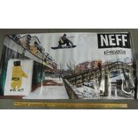 NEFF snowboard Sage Kotsenburg Forever Fun rare shop display banner Flawless New