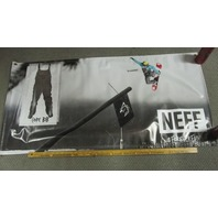 NEFF snowboard Tim Humphries Forever Fun rare shop display banner Flawless New