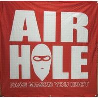 Airhole Snowboard Ski Face Mask Big shop Mesh Jersey display banner Flawless New