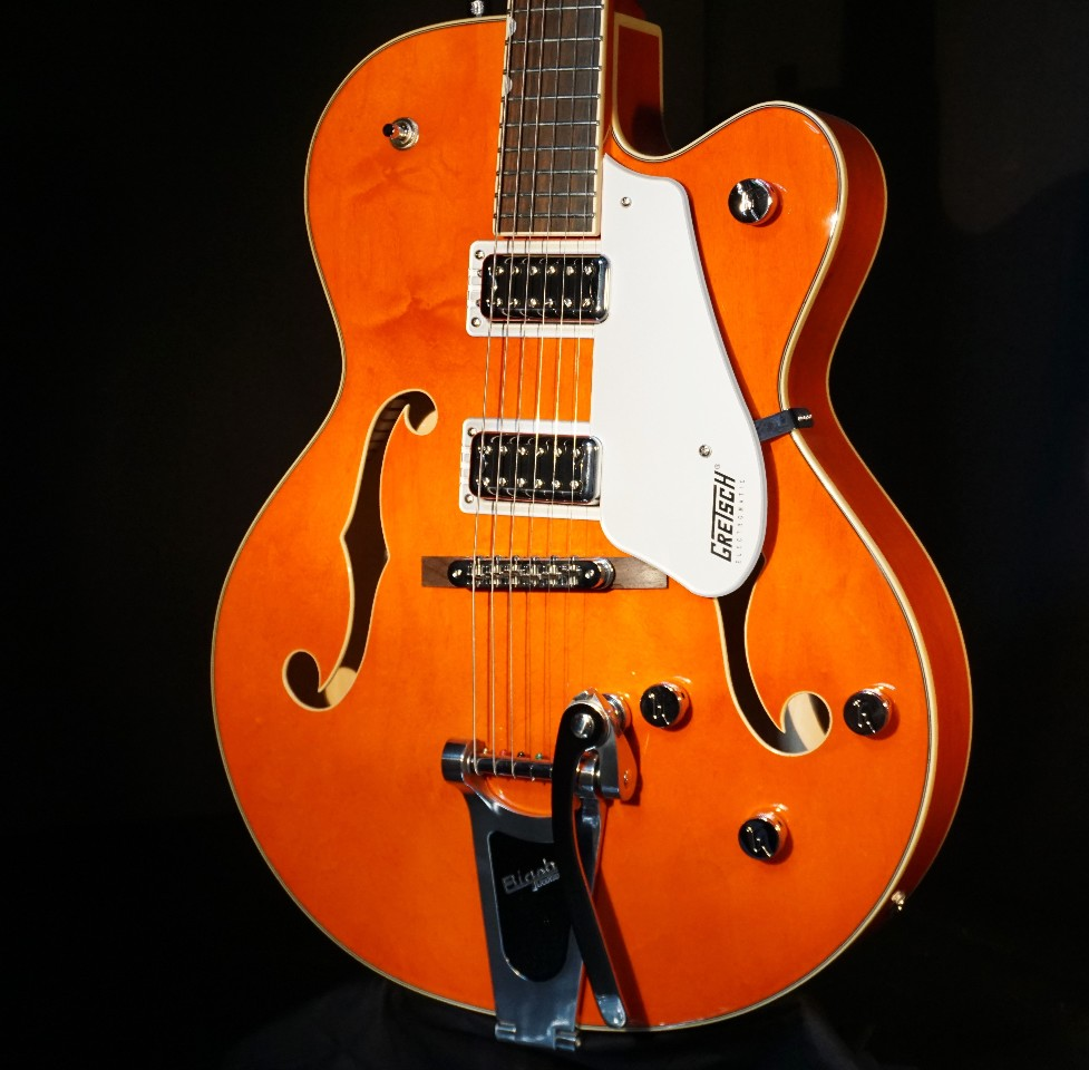 gretsch g5420t orange electromatic hollow body electric guitar 2018 streetsoundsnyc. Black Bedroom Furniture Sets. Home Design Ideas