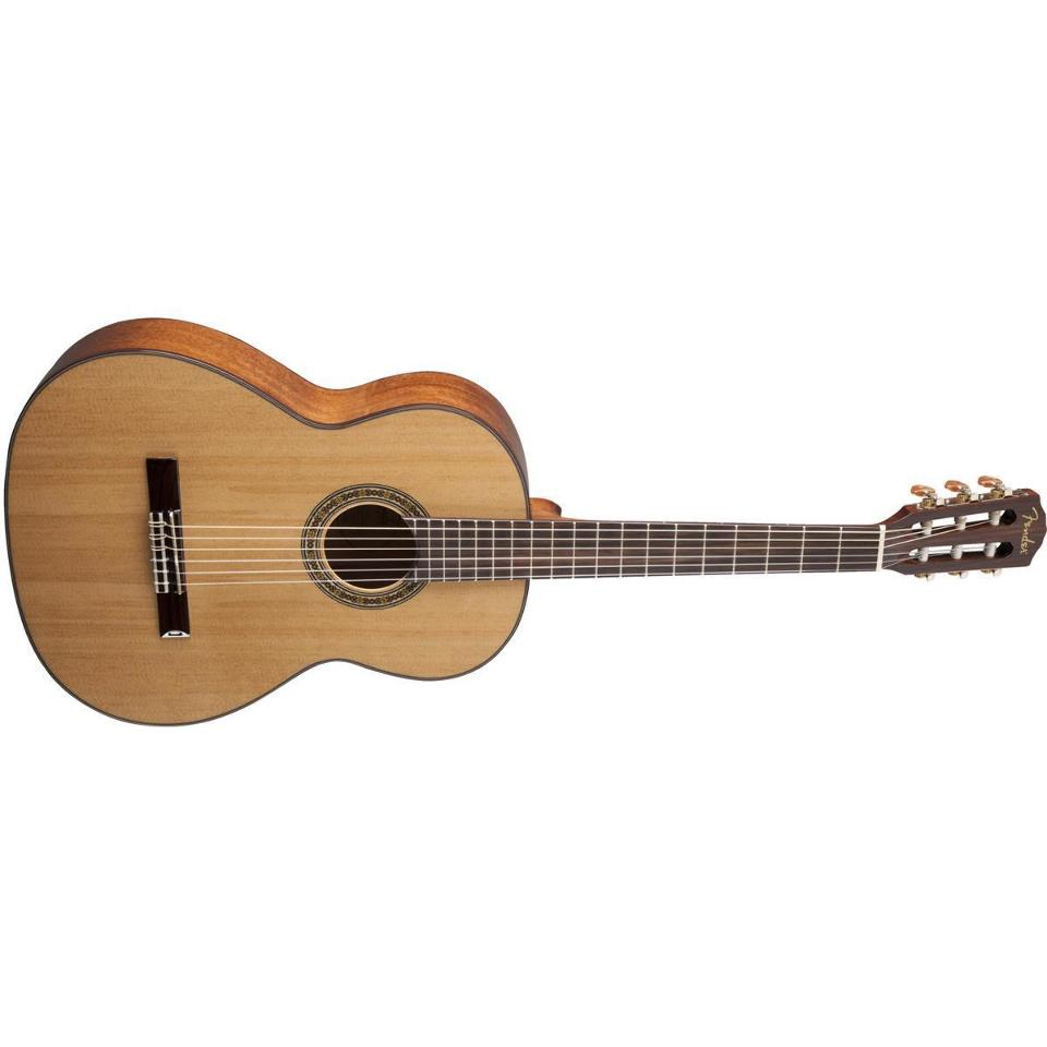 fender cn 90 nylon string classical acoustic guitar natural finish streetsoundsnyc. Black Bedroom Furniture Sets. Home Design Ideas