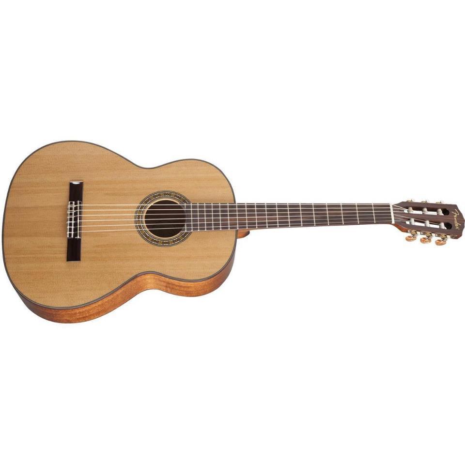 fender cn 90 nylon string classical acoustic guitar natural finish streetsoundsnyc. Black Bedroom Furniture Sets. Home Design Ideas