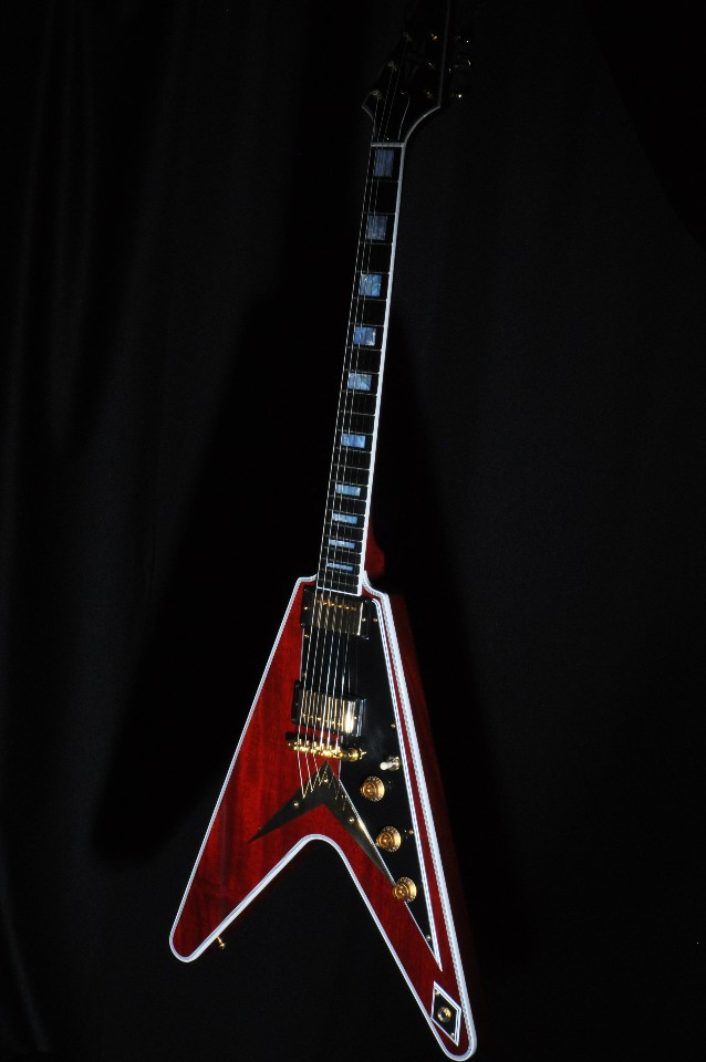 Flying W Guitar : gibson usa custom flying v guitar faded cherry 2017 w hardshell streetsoundsnyc ~ Hamham.info Haus und Dekorationen