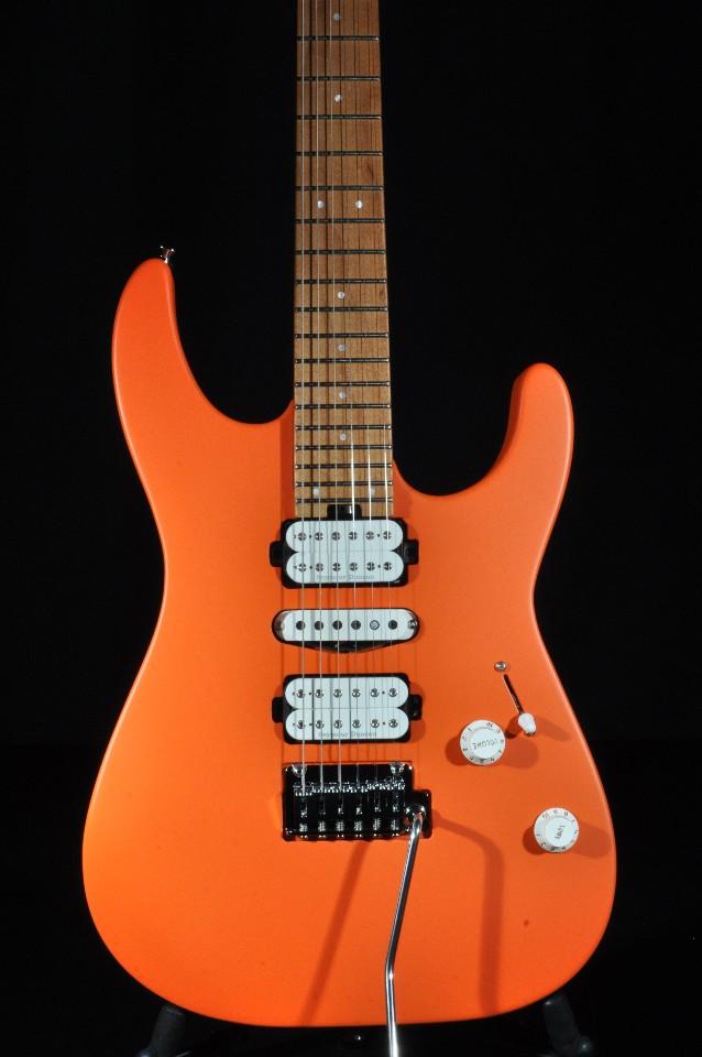 charvel dk24 hsh pro mod 2pt mpl satin orange crush electric guitar streetsoundsnyc. Black Bedroom Furniture Sets. Home Design Ideas