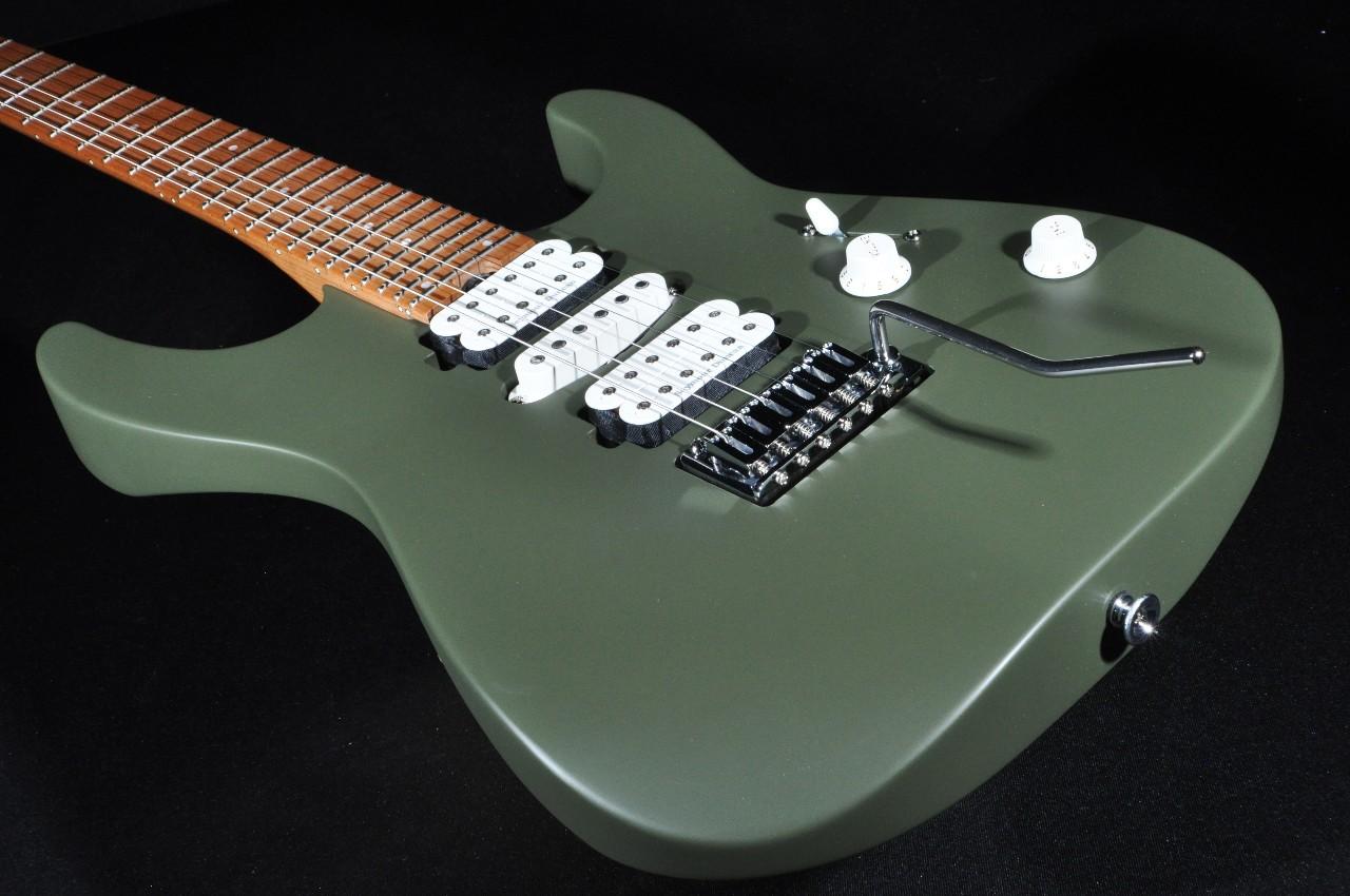 charvel dk24 hsh pro mod 2pt mpl army drab caramelized fretboard electric guitar streetsoundsnyc. Black Bedroom Furniture Sets. Home Design Ideas