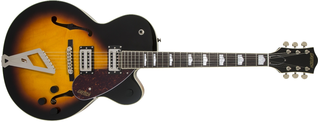 Gretsch G2420 Streamliner with Chromatic II Aged Brooklyn Burst (In Stock)