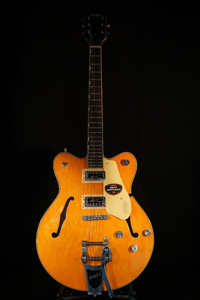gretsch g5622t electromatic center block guitar vintage orange 2018 streetsoundsnyc. Black Bedroom Furniture Sets. Home Design Ideas