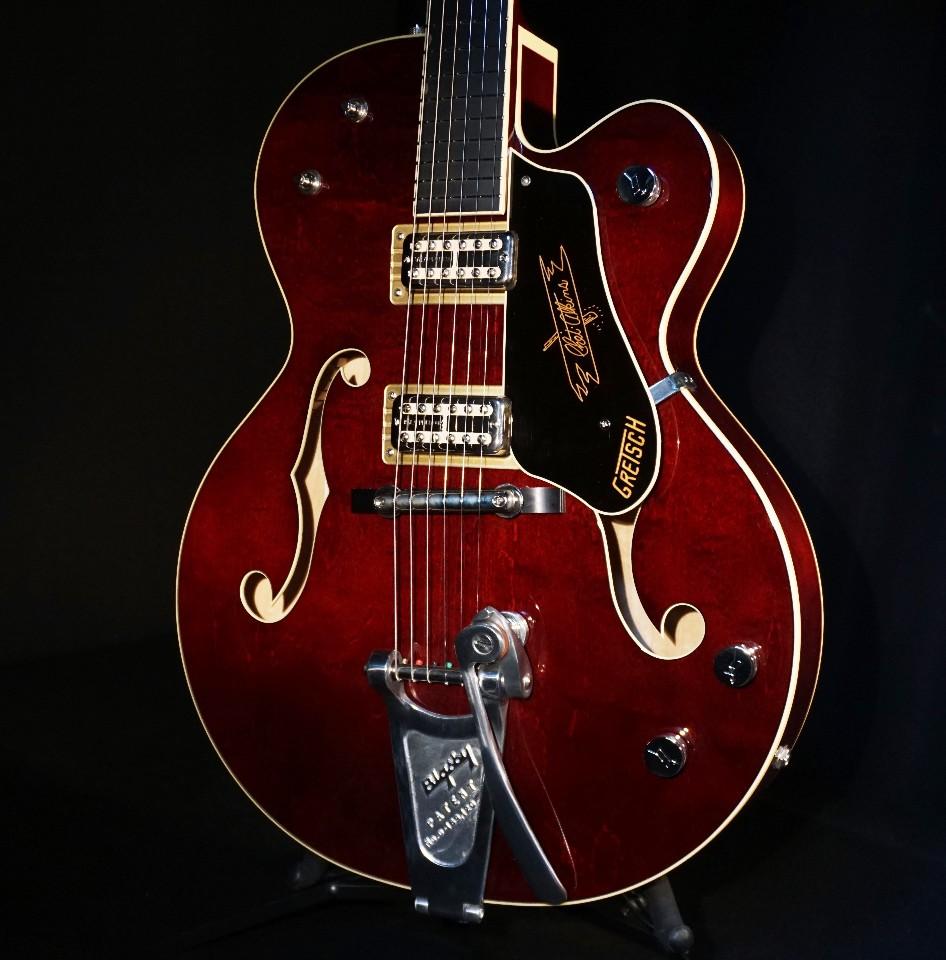 Gretsch G6120T Limited Edition '59 Chet Nashville Dark Cherry Stain Guitar