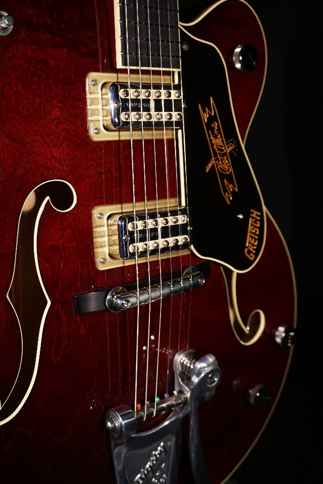 Gretsch G6120T Limited Edition '59 Chet Nashville Dark Cherry Stain Guitar