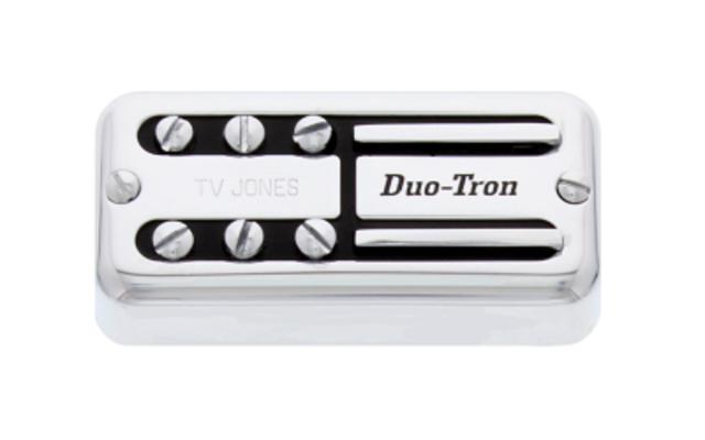 Tv Jones Paul Yandell Duo Tron Universal Mount Chrome Neck Pickup