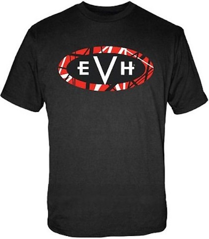 Evh Logo Tee Shirt Black XXX-LARGE 912-2001-906