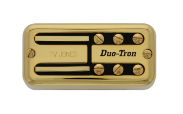 Tv Jones Paul Yandell Duo Tron Universal Mount Gold Bridge Pickup (PYB-UVGLD)