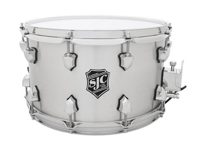 """SJC Custom Drums Element Aluminum Snare Drum - 7"""" x 14"""""""