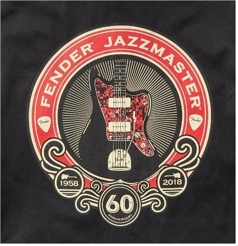 Fender 60th Anniversary Jazzmaster Workshirt Black Small