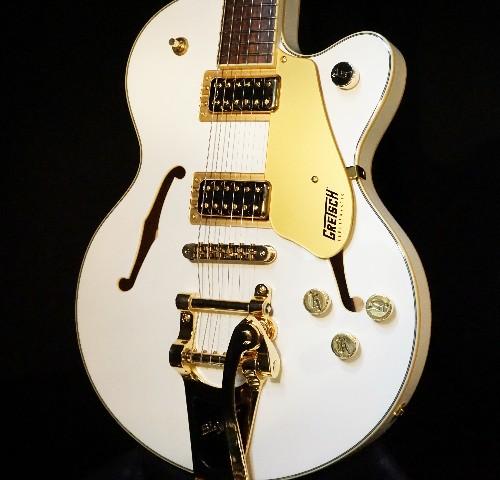 Gretsch G5655TG Limited Edition Center Block Jr. Snow Crest White Guitar