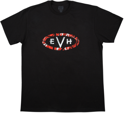 EVH Wolfgang Tee Shirt Black Medium 912-9653-406