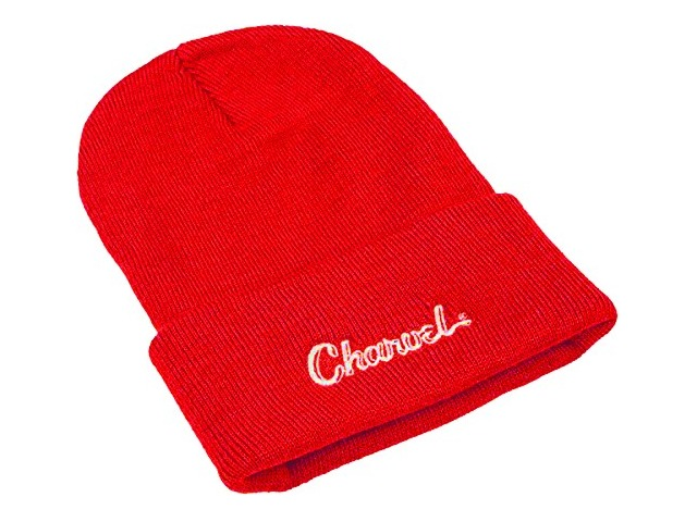 Charvel Logo Beanie Red
