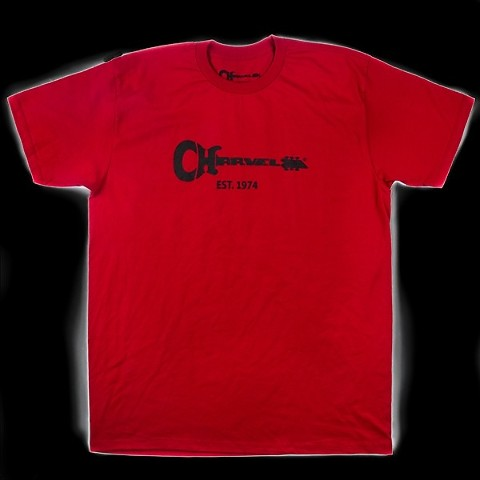Charvel Guitar Logo Tee Red L