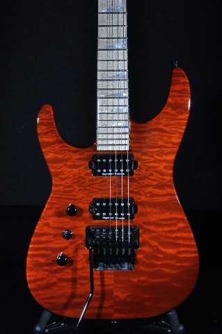 Jackson USA Custom Shop SL2 Lefty Rootbeer Quilt Top Guitar Mint