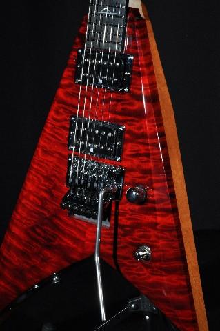 Jackson USA Custom Shop Oli Herbert Limited Rhoads Red Rum Guitar