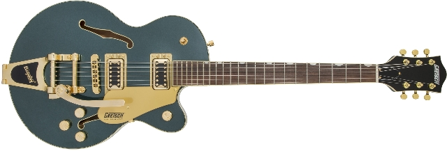 Gretsch G5655TG Electromatic CB Jr.  with Bigsby Cadillac Green Guitar (In Stock)