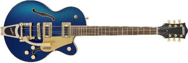 Gretsch G5655TG Electromatic CB Jr. with Bigsby Azure Metallic Guitar (In Stock)